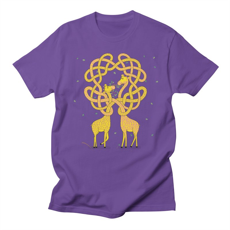 When Giraffes Fight Men's T-Shirt by cumulo7's Artist Shop