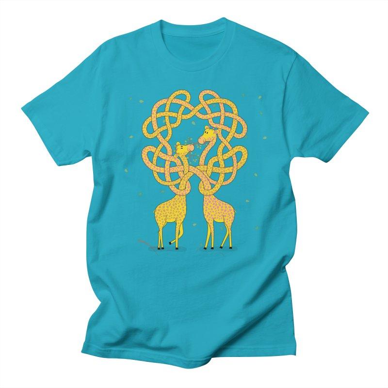 When Giraffes Fight Men's Regular T-Shirt by Cumulo 7