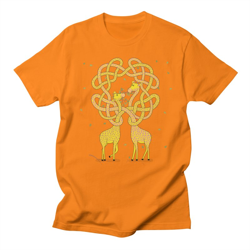 When Giraffes Fight Women's Regular Unisex T-Shirt by Cumulo 7