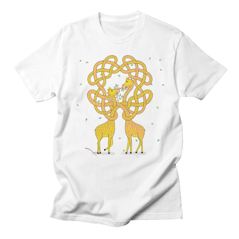 When Giraffes Fight Women's Unisex T-Shirt by cumulo7's Artist Shop
