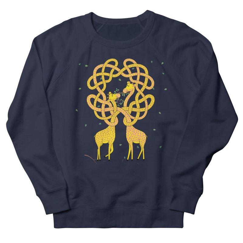 When Giraffes Fight Men's French Terry Sweatshirt by cumulo7's Artist Shop