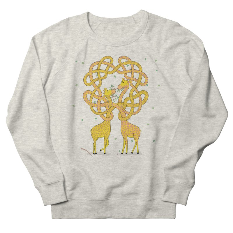 When Giraffes Fight Men's Sweatshirt by cumulo7's Artist Shop