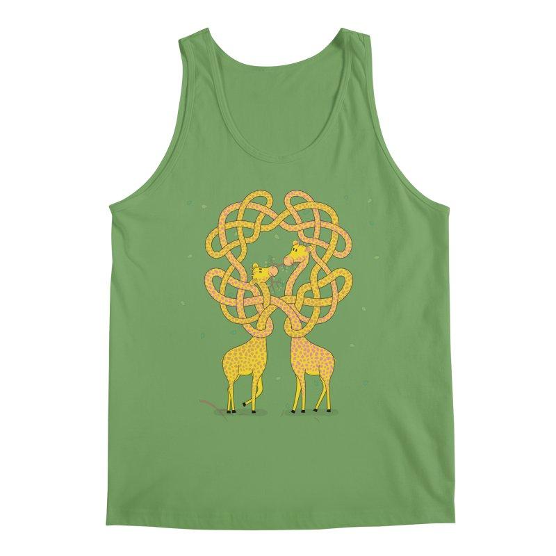 When Giraffes Fight Men's Tank by Cumulo 7
