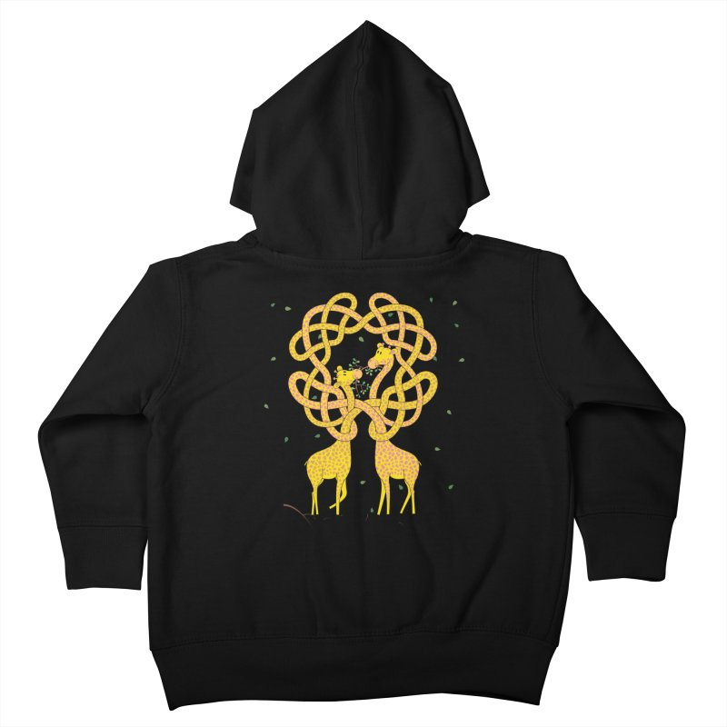 When Giraffes Fight Kids Toddler Zip-Up Hoody by cumulo7's Artist Shop