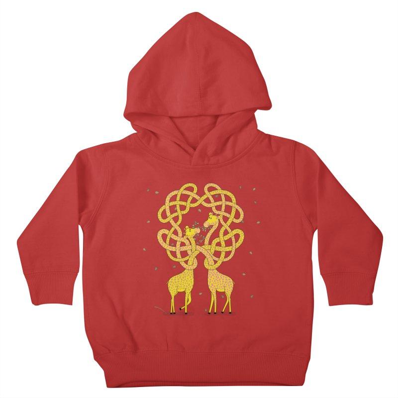 When Giraffes Fight Kids Toddler Pullover Hoody by cumulo7's Artist Shop