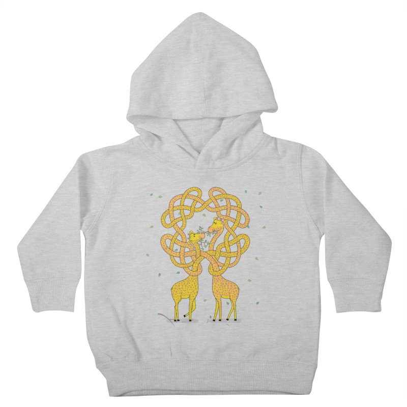 When Giraffes Fight Kids Toddler Pullover Hoody by cumulo7's Artist Shop