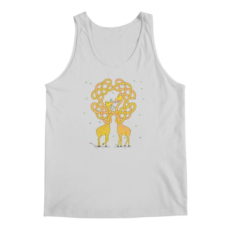 When Giraffes Fight Men's Tank by cumulo7's Artist Shop