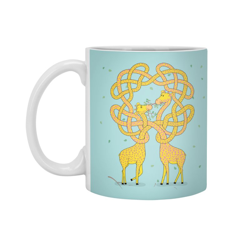 When Giraffes Fight Accessories Mug by cumulo7's Artist Shop