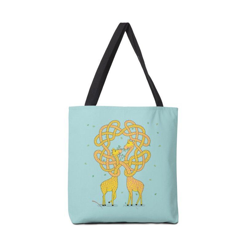 When Giraffes Fight Accessories Bag by cumulo7's Artist Shop