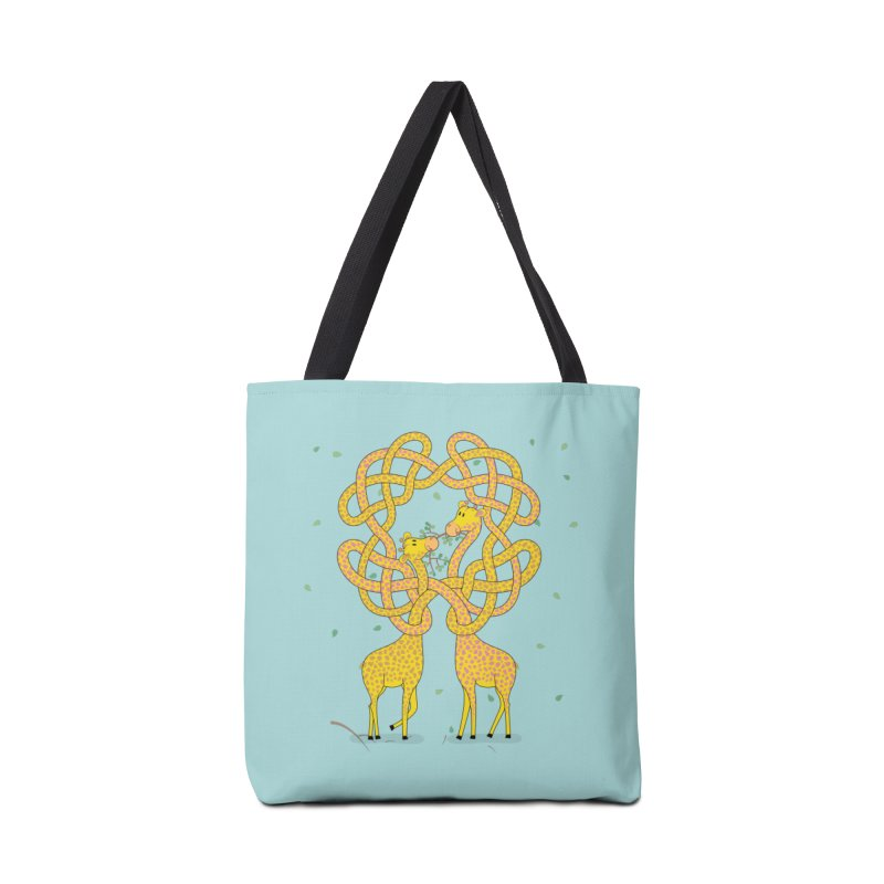 When Giraffes Fight Accessories Tote Bag Bag by Cumulo 7