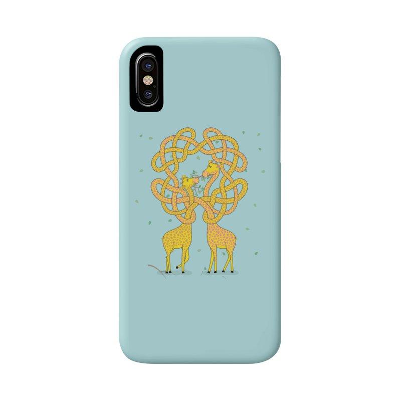 When Giraffes Fight Accessories Phone Case by cumulo7's Artist Shop