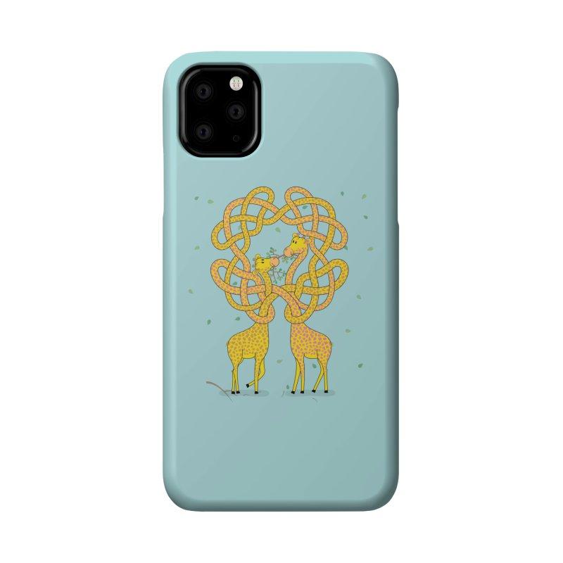 When Giraffes Fight Accessories Phone Case by Cumulo 7