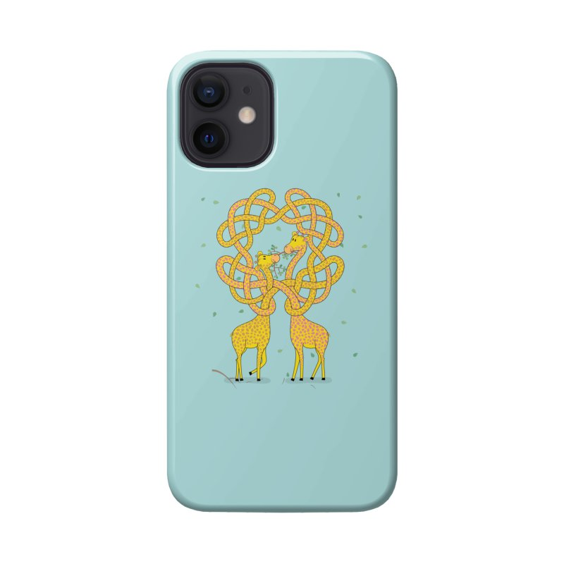 When Giraffes Fight Accessories Phone Case by Cumulo 7