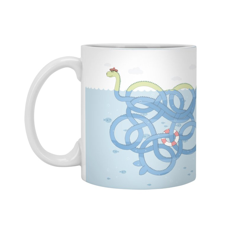 Tangled Nessi Accessories Mug by cumulo7's Artist Shop
