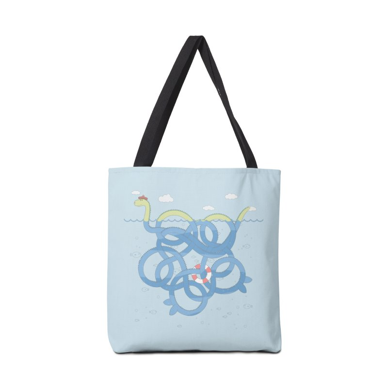 Tangled Nessi Accessories Bag by cumulo7's Artist Shop