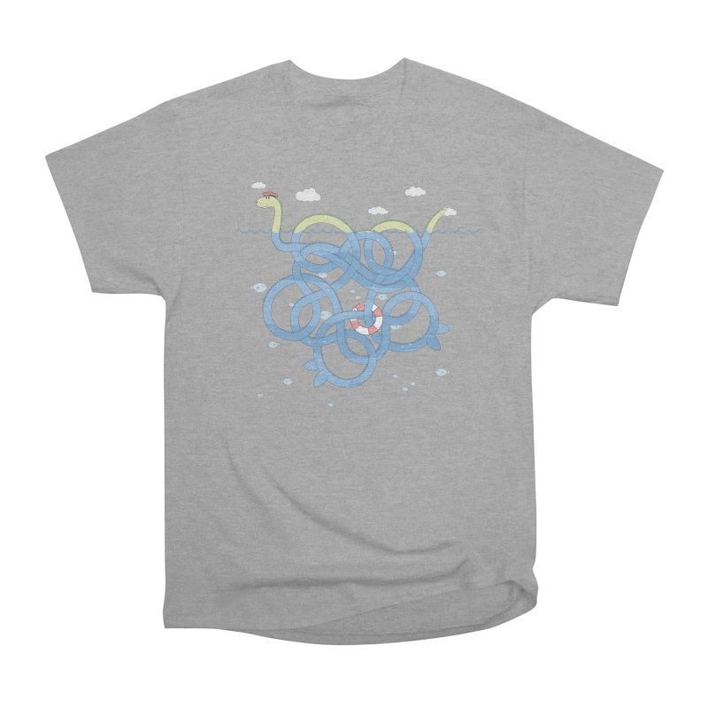 Tangled Nessi Men's Classic T-Shirt by cumulo7's Artist Shop