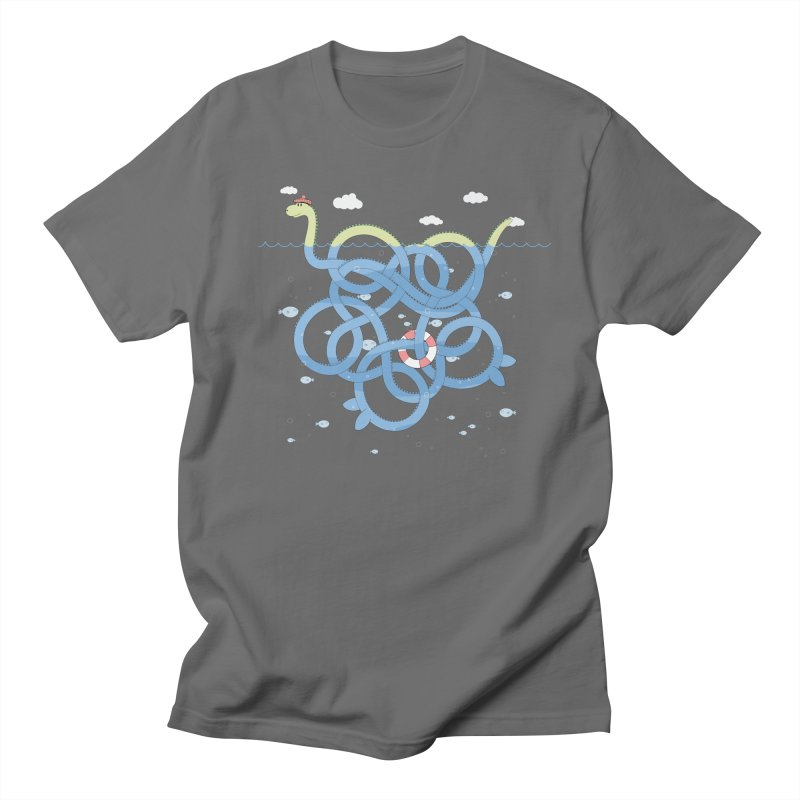 Tangled Nessi Women's Unisex T-Shirt by cumulo7's Artist Shop