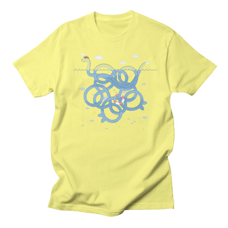 Tangled Nessi Men's T-shirt by cumulo7's Artist Shop