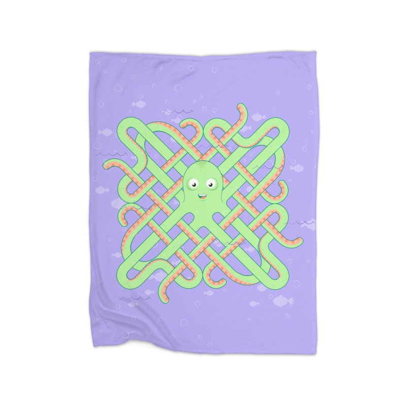 Octopus Home Blanket by cumulo7's Artist Shop