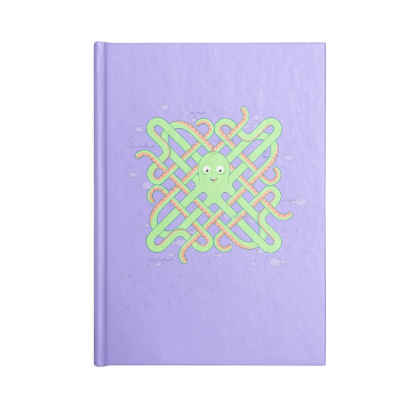 Octopus Accessories Blank Journal Notebook by Cumulo 7