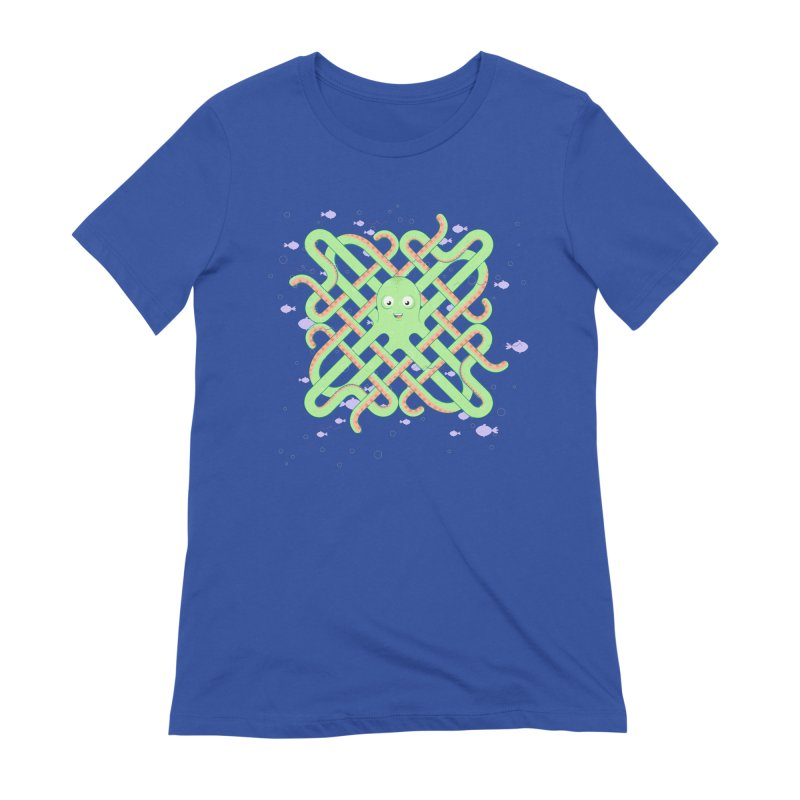 Octopus Women's Extra Soft T-Shirt by Cumulo 7