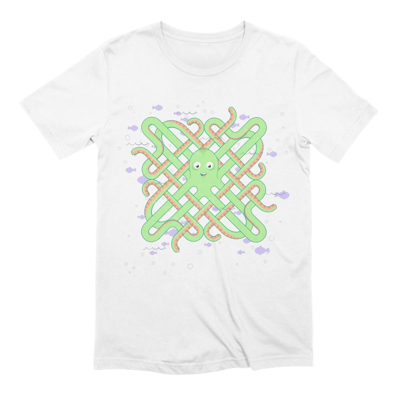 Octopus Men's Extra Soft T-Shirt by Cumulo 7