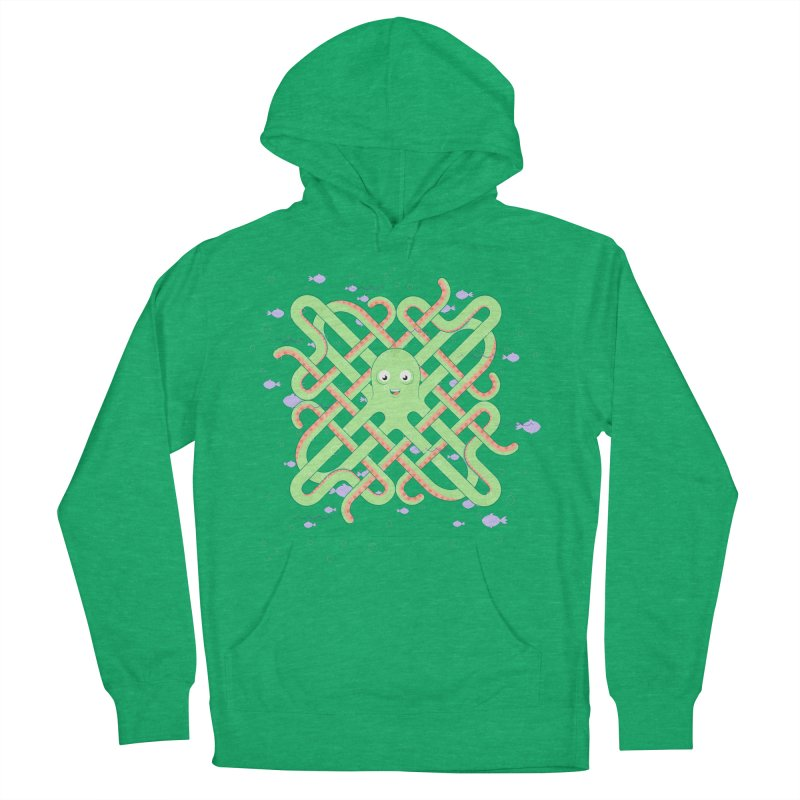 Octopus Women's French Terry Pullover Hoody by Cumulo 7