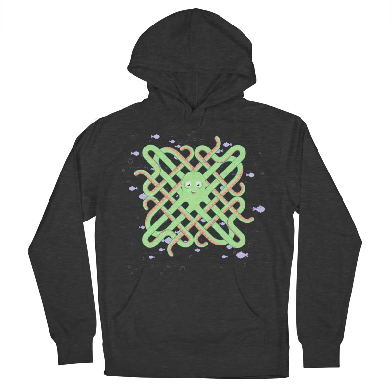Octopus Women's French Terry Pullover Hoody by cumulo7's Artist Shop