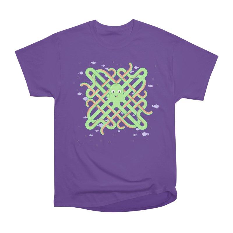 Octopus Women's Heavyweight Unisex T-Shirt by cumulo7's Artist Shop