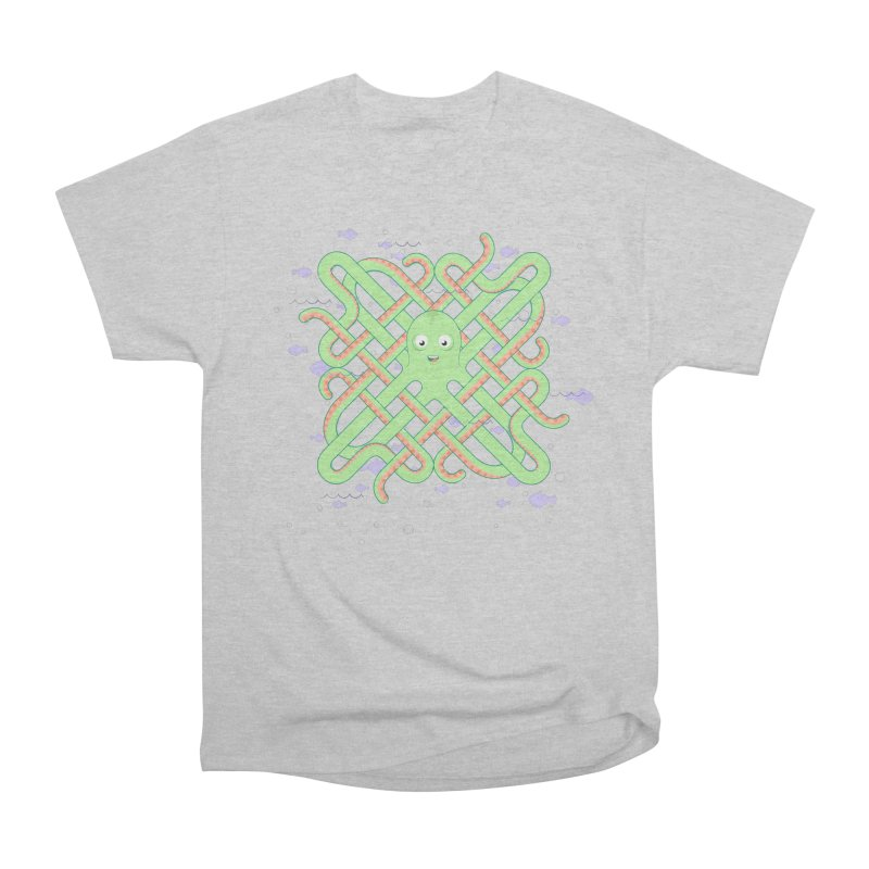 Octopus Men's Heavyweight T-Shirt by cumulo7's Artist Shop