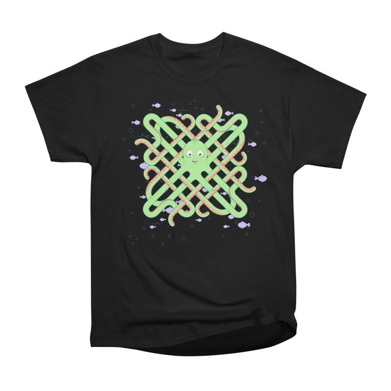 Octopus Women's Heavyweight Unisex T-Shirt by Cumulo 7