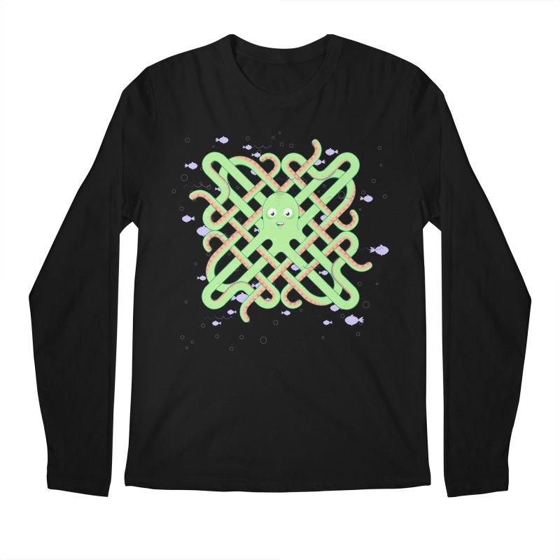 Octopus Men's Regular Longsleeve T-Shirt by Cumulo 7