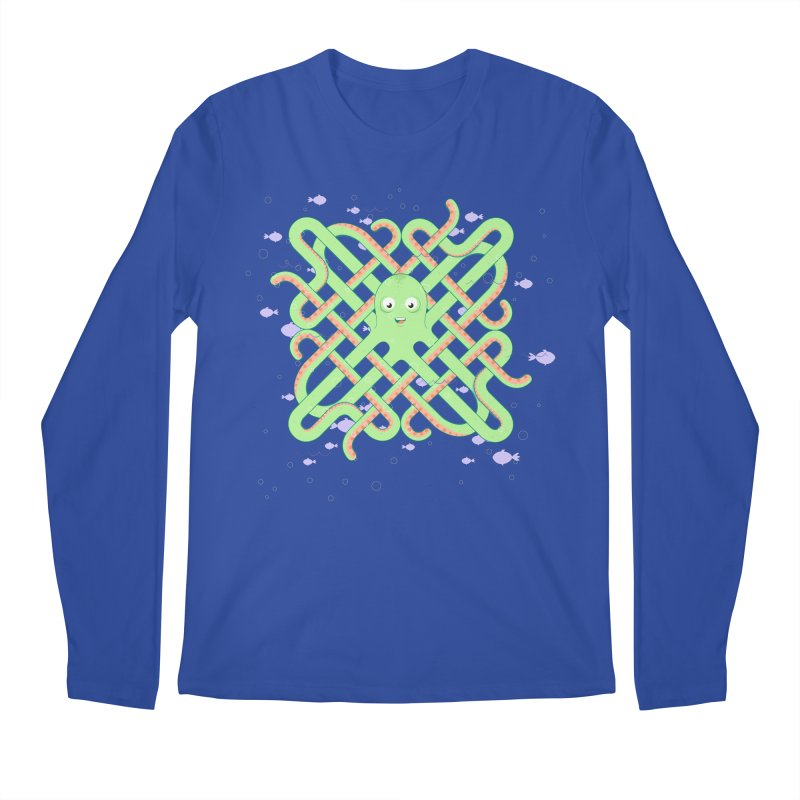 Octopus Men's Longsleeve T-Shirt by cumulo7's Artist Shop
