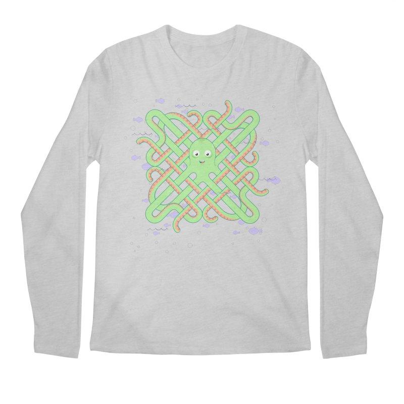 Octopus Men's Longsleeve T-Shirt by cumulo7's Artist Shop