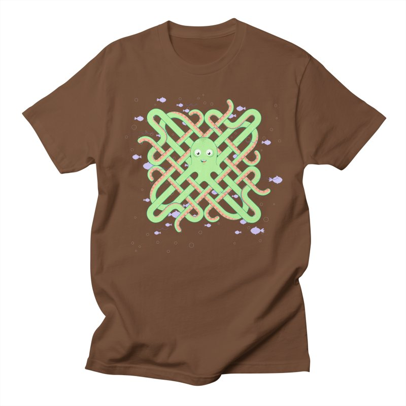 Octopus Women's Unisex T-Shirt by cumulo7's Artist Shop