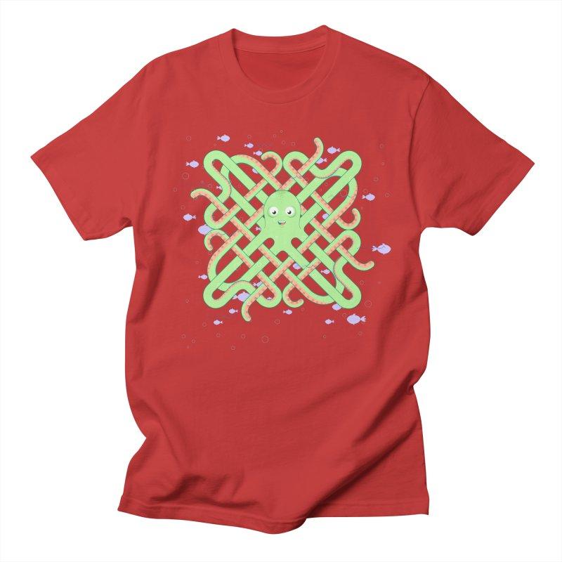 Octopus Men's T-Shirt by cumulo7's Artist Shop