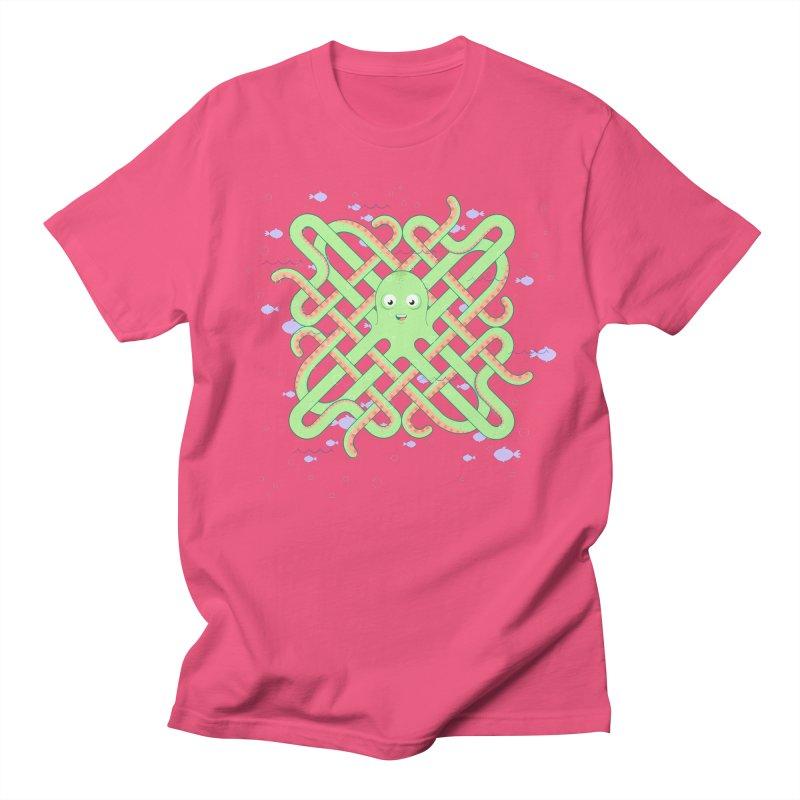 Octopus Women's Regular Unisex T-Shirt by cumulo7's Artist Shop