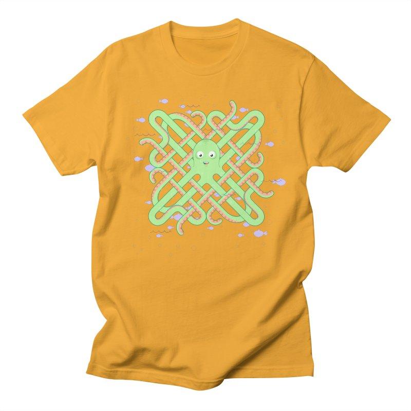 Octopus Women's Unisex T-Shirt by cumulo7's Artist Shop