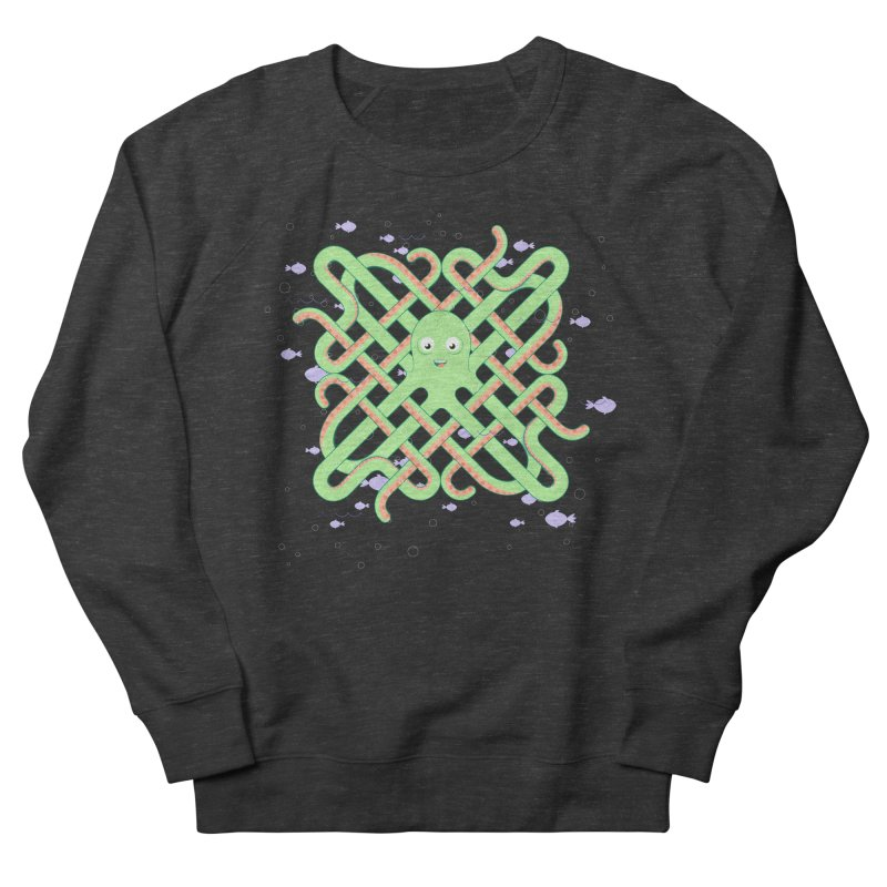 Octopus Women's French Terry Sweatshirt by cumulo7's Artist Shop