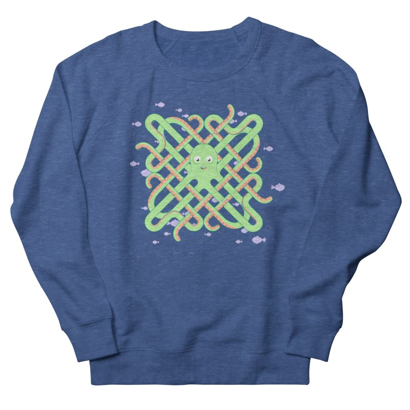 Octopus Women's French Terry Sweatshirt by Cumulo 7