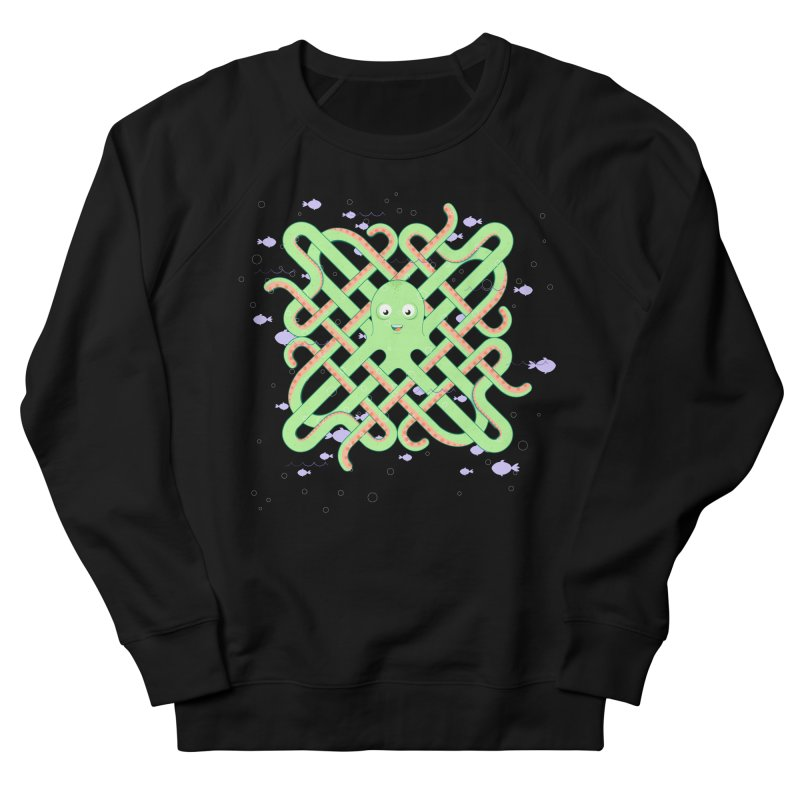 Octopus Women's French Terry Sweatshirt by Cumulo 7
