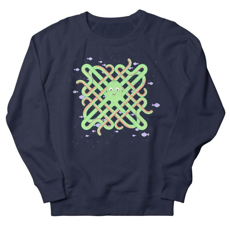 Octopus Men's French Terry Sweatshirt by cumulo7's Artist Shop