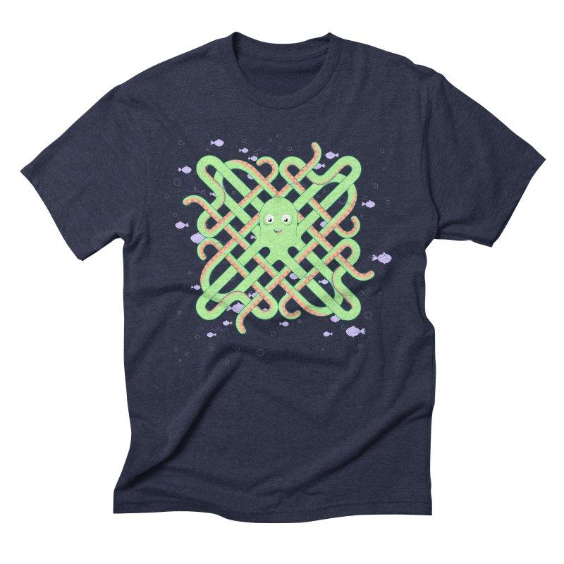 Octopus Men's Triblend T-Shirt by cumulo7's Artist Shop