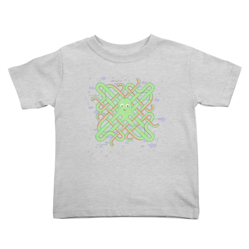 Octopus Kids Toddler T-Shirt by cumulo7's Artist Shop