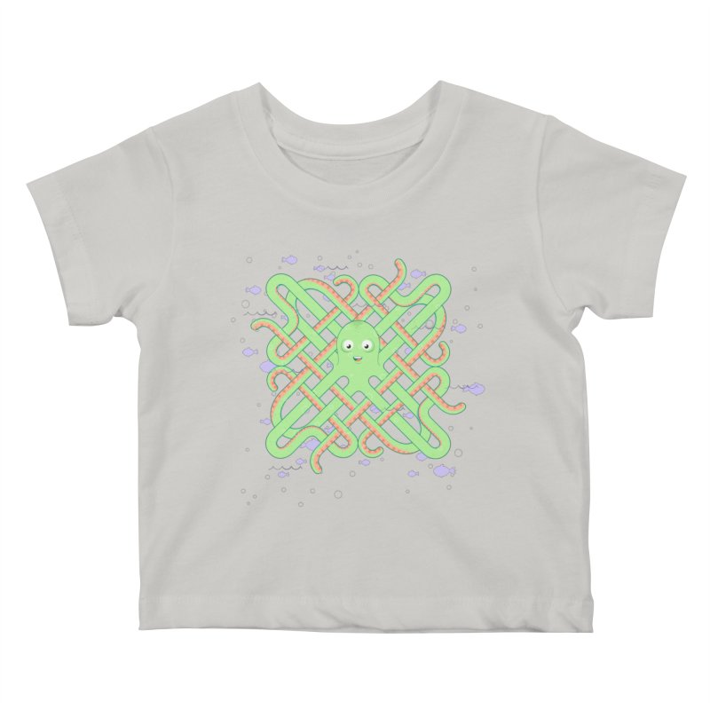 Octopus Kids Baby T-Shirt by cumulo7's Artist Shop