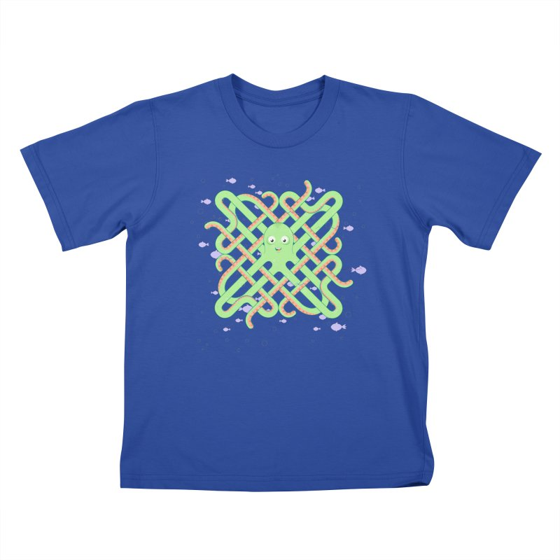 Octopus Kids T-Shirt by cumulo7's Artist Shop