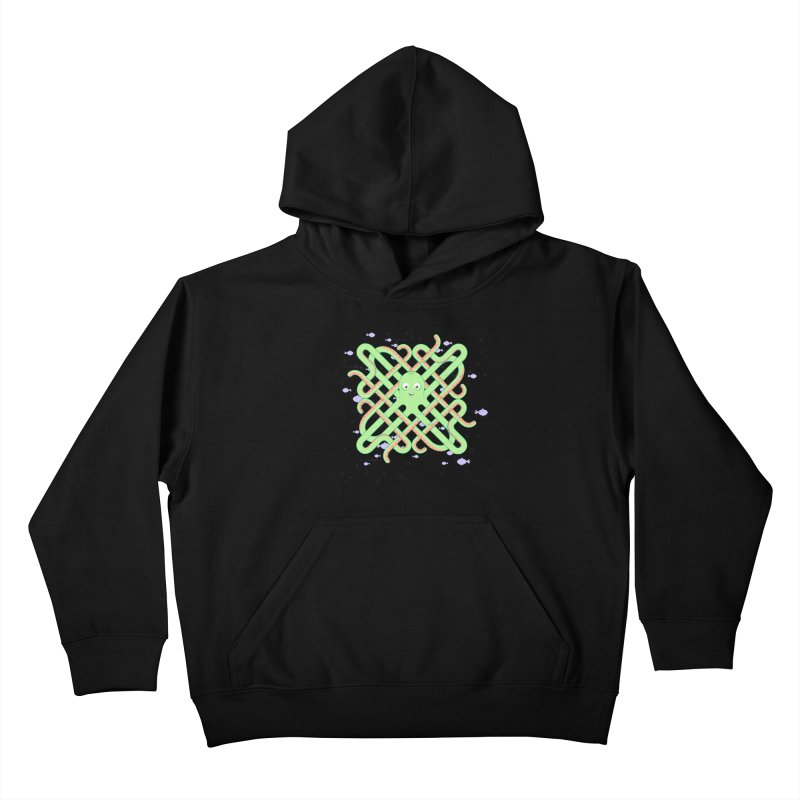 Octopus Kids Pullover Hoody by Cumulo 7