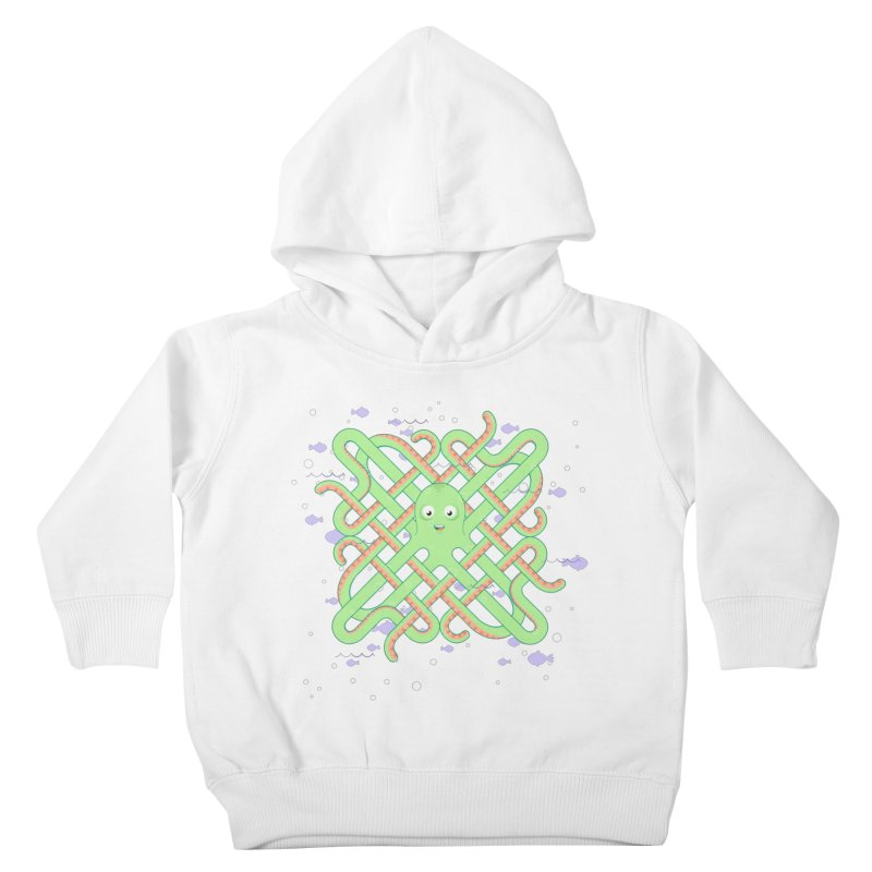 Octopus Kids Toddler Pullover Hoody by cumulo7's Artist Shop