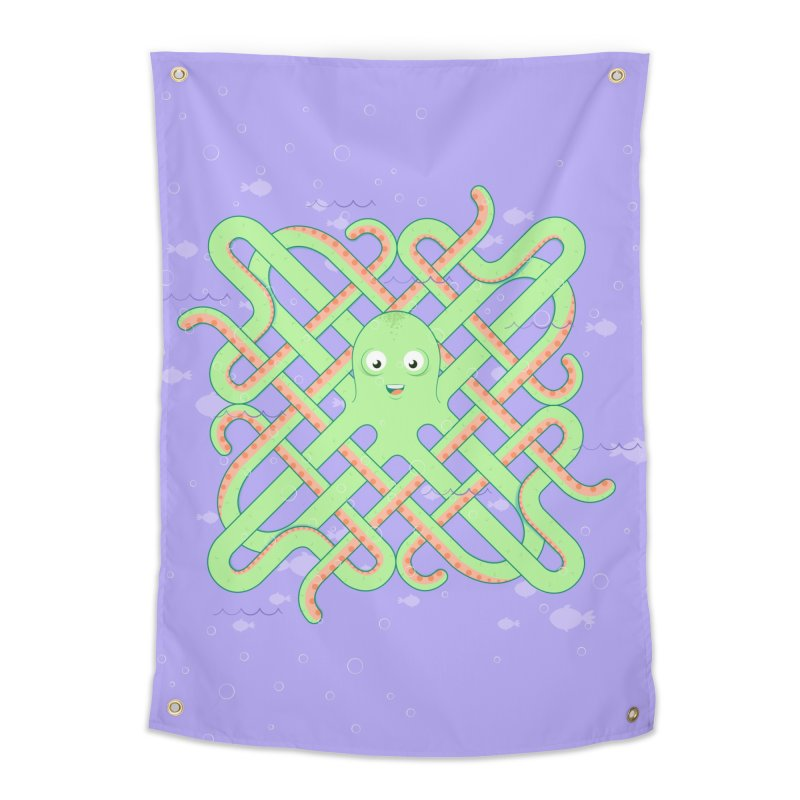 Octopus Home Tapestry by Cumulo 7