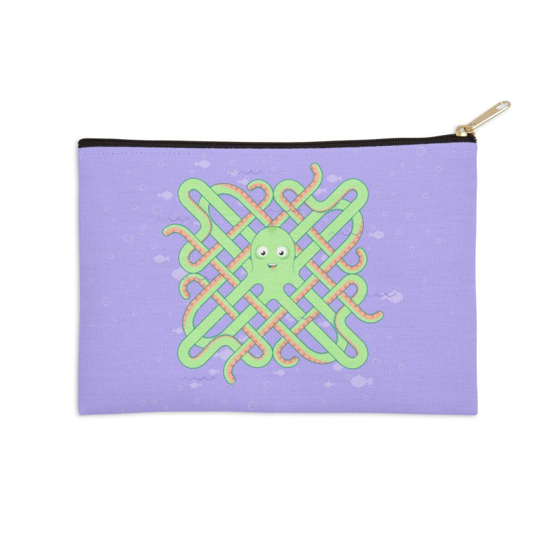 Octopus Accessories Zip Pouch by cumulo7's Artist Shop